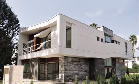 نمای ساختمان, نمای شمالی ساختمان