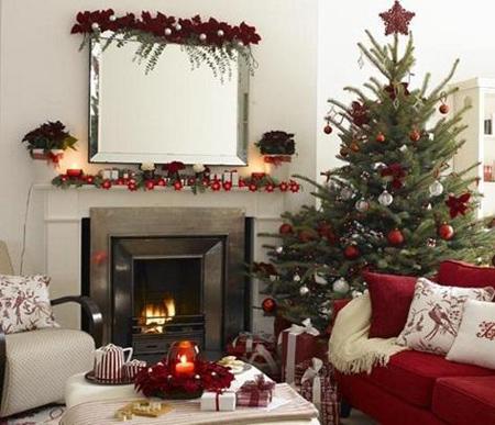 تزیین خانه برای جشن کریسمس
