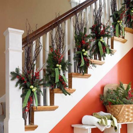 ایده برای تزیین کریسمس, روش های تزیین خانه در کریسمس
