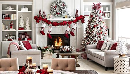 تزیین خانه در کریسمس, چیدمان خانه در کریسمس