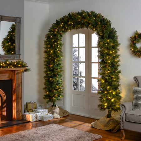 چیدمان خانه در کریسمس, تزیینات جشن کریسمس