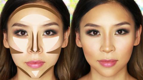 کرم کانتور چیست و مراحل کانتور کردن صورت