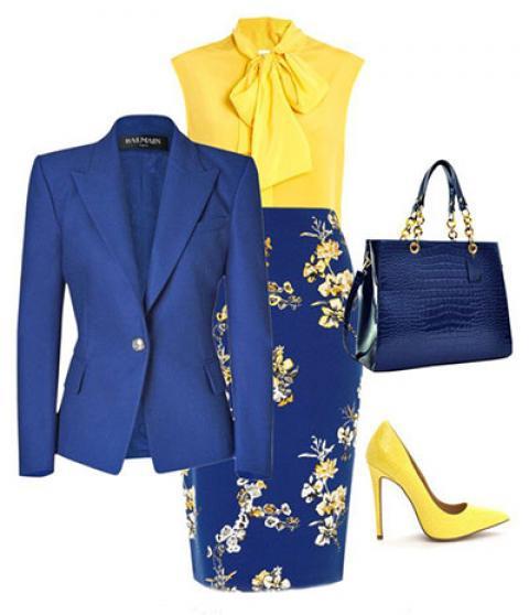 چه رنگ کفشی با لباس زرد بپوشیم؟
