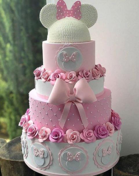 جدیدترین عکس کیک تولد متناسب با تم تولد