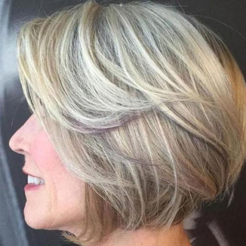 21 مدل مو ی جذاب برای زنان بالای 50 سال