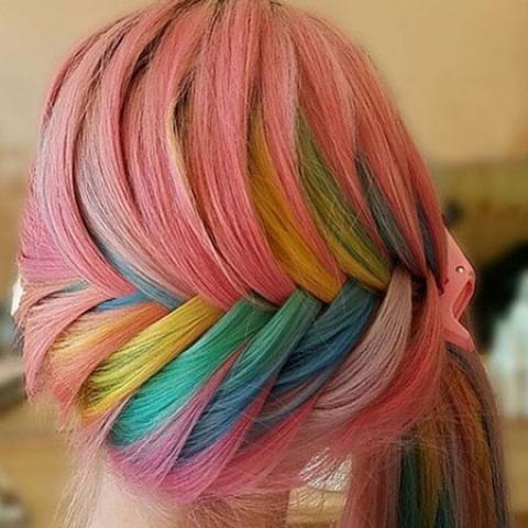 رنگهای فانتزی چه مدت بر روی موها دوام می آورند ؟