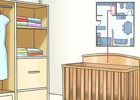 چیدمان اتاق کودک در آپارتمان های کوچک