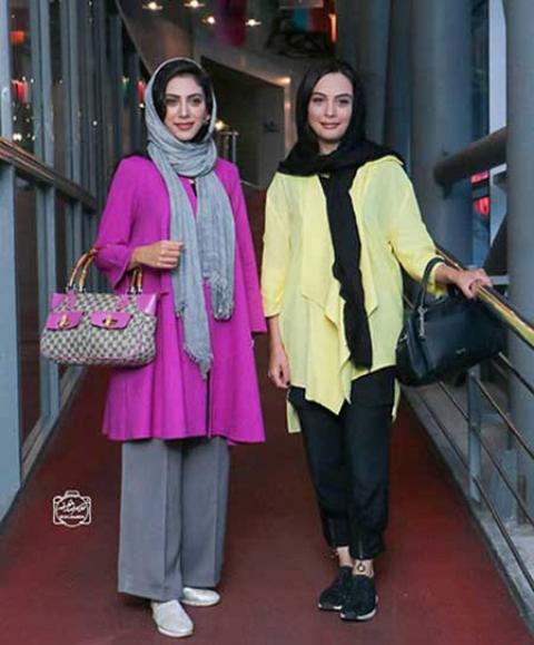 تیپ و استایل چهرههای ایرانی؛ مشکیپوشان و رنگینپوشان