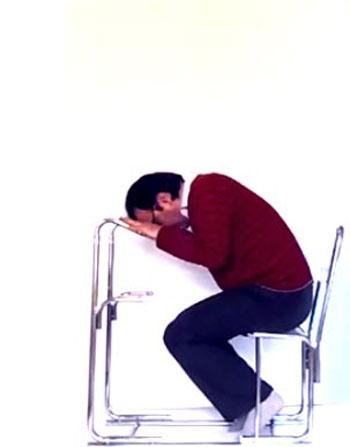 آموزش خواندن نماز به صورت نشسته,خواندن نماز به صورت نشسته