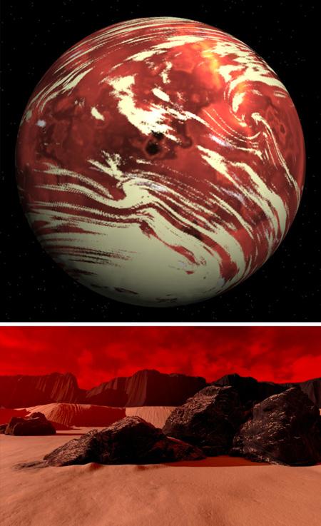 اسم سیارات شبیه زمین,سیاره هایی شبیه زمین