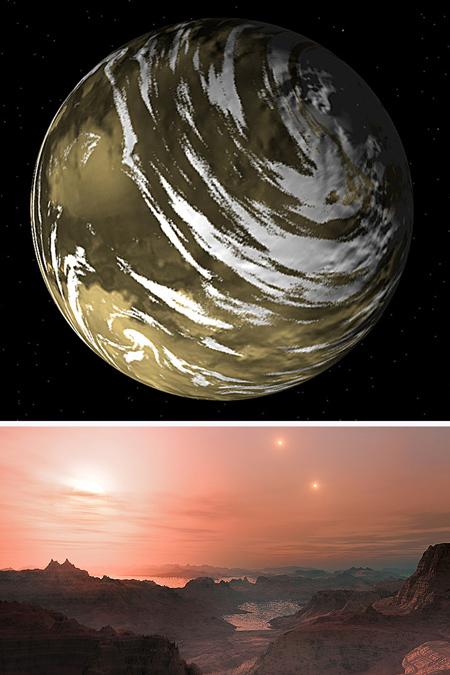 آشنایی با سیاره هایی شبیه زمین,معرفی سیاره هایی شبیه زمین