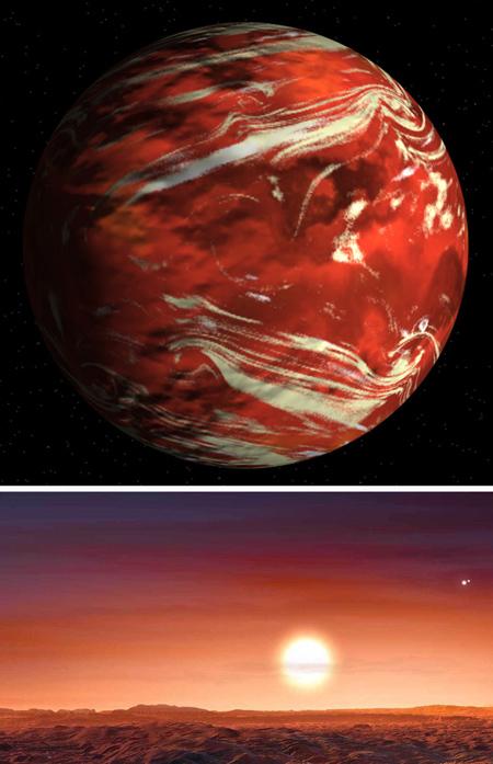 معرفی سیارات قابل سکونت,تصاویر سیارات شبیه زمین