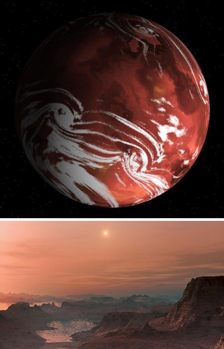 تصاویر سیارات شبیه زمین,آشنایی با سیاره هایی شبیه زمین