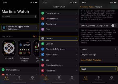 باز کردن قفل Apple Watch, راه اندازی اپل واچ