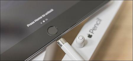 شارژ کردن اپل پنسل , برای شارژ کردن مداد اپل با کابل