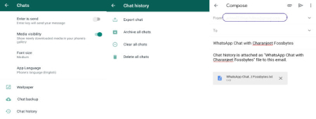 آموزش انتقال مکالمات اپلیکیشن واتسآپ از اندروید به آیفون, انتقال چت های واتساپ از اندروید به آیفون