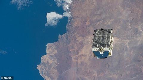 بزرگترین زبالهی فضایی تا به امروز در فضا رها شد!