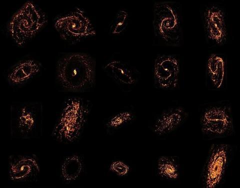 تصاویری خیرهکننده از محل تشکیل ستارگان