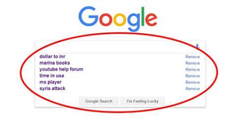 چگونه کلمات سرچ شده در گوگل را حذف كنيم؟ چگونه کلماتی که در گوگل سرچ کردیم پاک کنیم؟