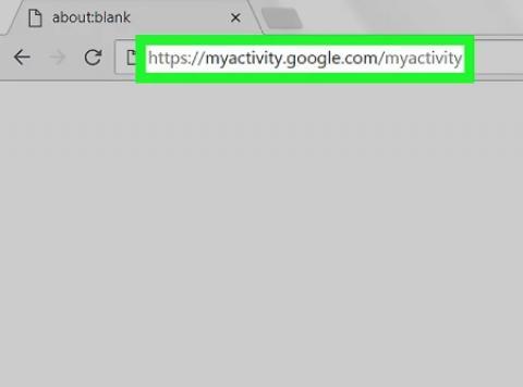 بررسی تاریخچه جستجوی حساب گوگل