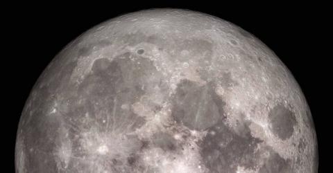 کشف مقادیر زیادی فلز در زیر سطح ماه