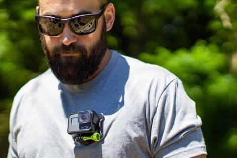 دوربین قابل نصب روی لباس برای فیلمبرداری صحنه های اکشن