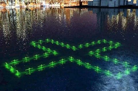 کنترل کیفیت آب با یک اثر هنری