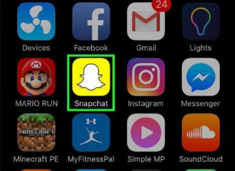 نحوه استفاده از فیلتر چهره در Snapchat