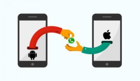انتقال چت های واتس آپ از Android به iPhone