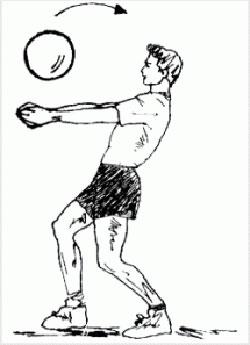 اموزش نقاشی توپ والیبال