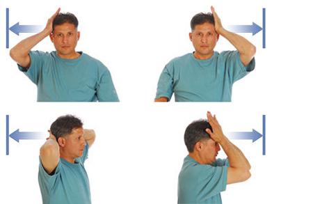 تقویت عضلات گردن،ورزش گردن،ورزش گردن درد