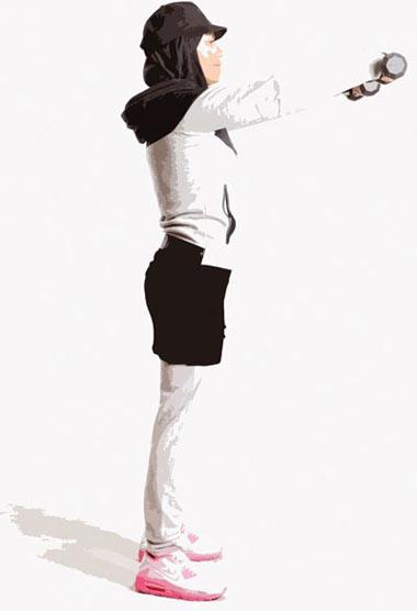 تقویت عضلات بالاتنه,بدنسازی,کار با دمبل
