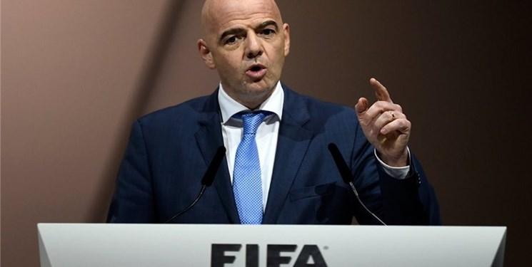 انتخاب دوباره اینفانتینو به عنوان رئیس فیفا