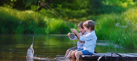 ماهیگیری ورزشی برای روح و جسم