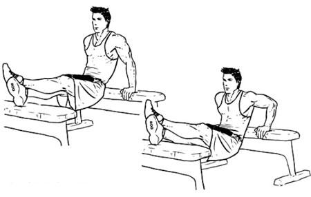 دیپ پشت بازو,حرکت دیپ,تفویت عضلات بازو