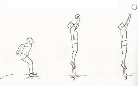 نقاشی ساده توپ والیبال
