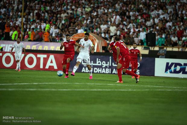 عمر خربین از لیست تیم ملی سوریه برای بازی با ایران خط خورد