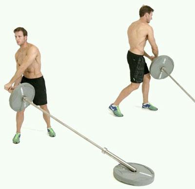 حرکت لندماین,بهترین حرکات بدنسازی,عضله سازی