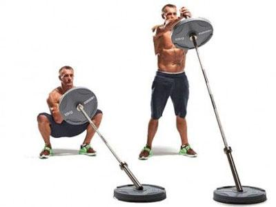حرکت لندماین,تقویت عضلات بازو,لندماین اسکوات