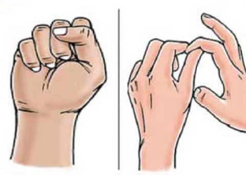 نرمش هایی برای تقویت مچ دست (+تصاویر)