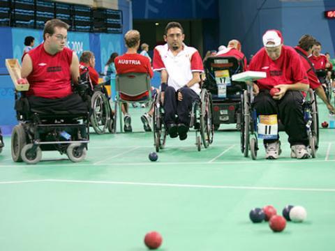 رشته ورزشی بوچیا ویژه معلولین معرفیرشته ورزشی بوچیا ویژه معلولین