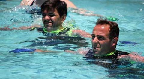 ایروبیک در آب
