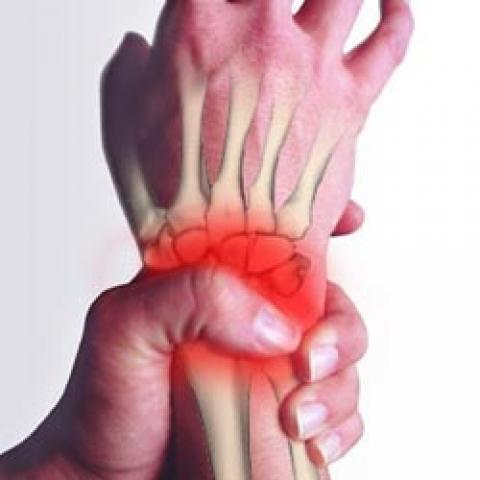 آسیب های مچ دست در ژیمناستیک