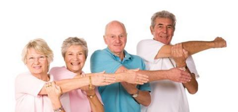 ورزش سالمندان در منزل