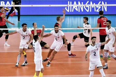 ترکیب تیم ملی والیبال برای هفته دوم لیگ ملتها / غلامی جانشین شریفی شد