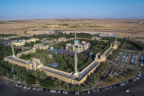 زیارتگاه امامزاده حسین بن موسی کاظم (ع) در طبس