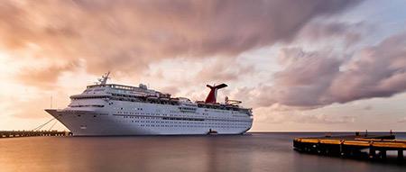 کشتی کروز,تاریخچه کشتی کروز,سفر با کشتی کروز