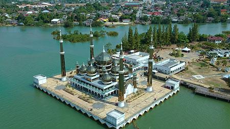مسجد کریستال,مسجد کریستال مالزی,عکس مسجد کریستال