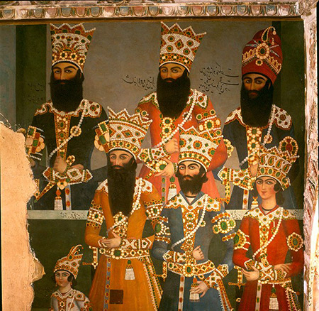 کاخ سلیمانیه,نقاشی های کاخ سلیمانیه,تصاویر کاخ سلیمانیه