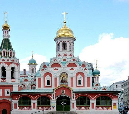 کلیسای کازان,تصاویر کلیسای کازان در روسیه, کلیسای کازان در مسکو